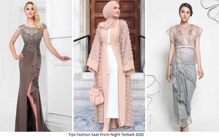 Tips Fashion Saat Prom Night Terbaik 2020