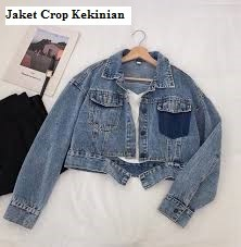 Jaket Crop